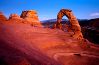 Twilight at Delicate Arch